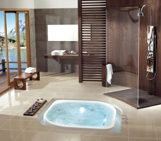 Delightful Contemporary Shower Design Ideas