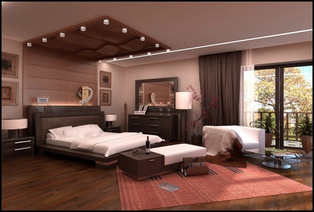 15 ultra modern ceiling designs for your master bedroom. Black Bedroom Furniture Sets. Home Design Ideas