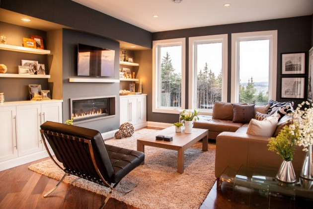 20 Stunning Contemporary Family Room Designs For The Best ...