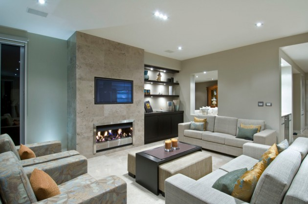 20 Stunning Contemporary Family Room Designs For The Best Relaxation
