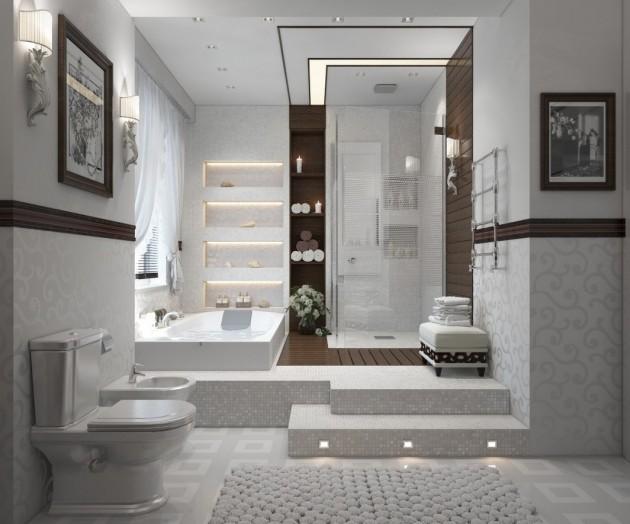 17 Comfortable Bathroom Design Ideas That Offer Real Enjoyment