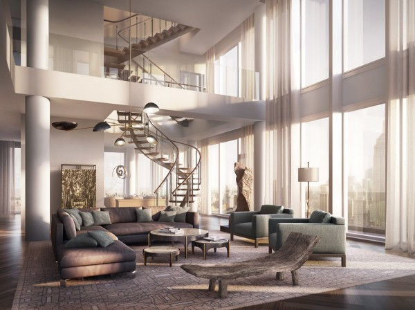 17 Astounding Penthouse Interior Designs That Wows