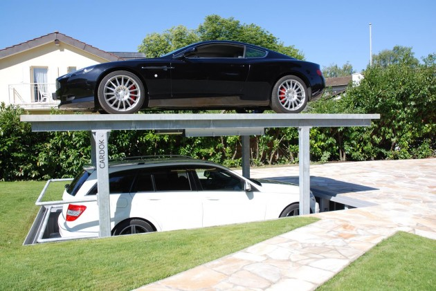 10 Space Saving Underground Home Parking Solutions That Wows