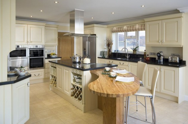 15 Functional Ideas How To Decorate Big Spacious Kitchen