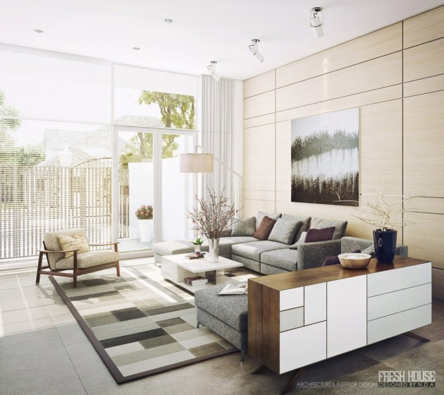 16 Delightful Bright Living Room Design Ideas