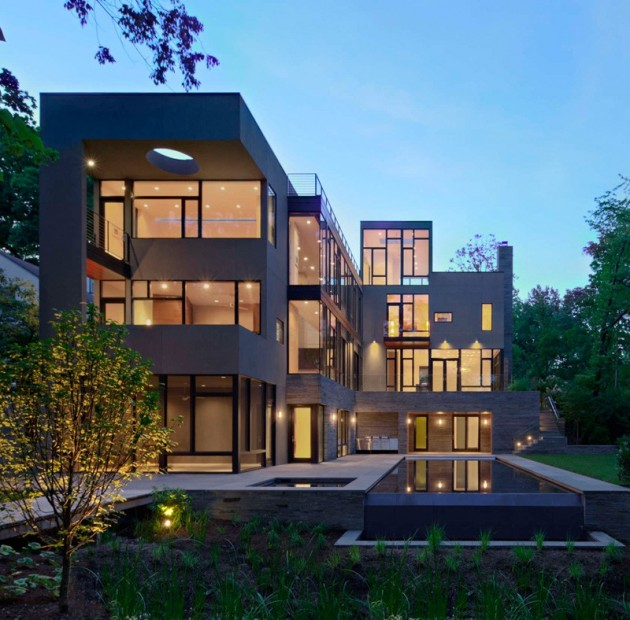 10 Majestic Contemporary House Designs That No One Can Resist Them