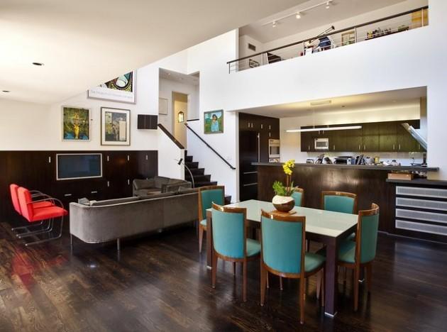 15 Dramatic Dark Flooring Design Ideas