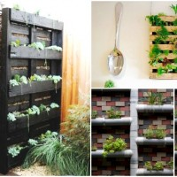 Top 21 The Most Easiest DIY Vertical Garden Ideas With a Big Statement