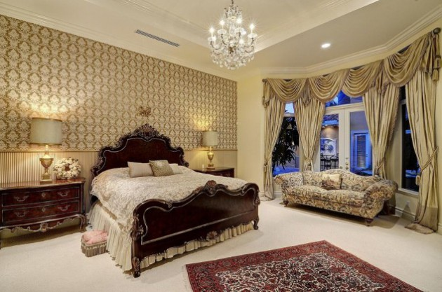 14 Stunningly Dazzling French Bedroom Design Ideas