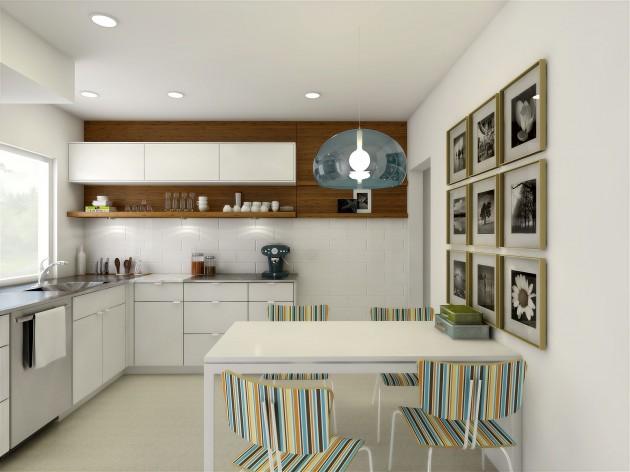 21 adorable functional small kitchen design ideas for Soluzioni di arredamento per case piccole