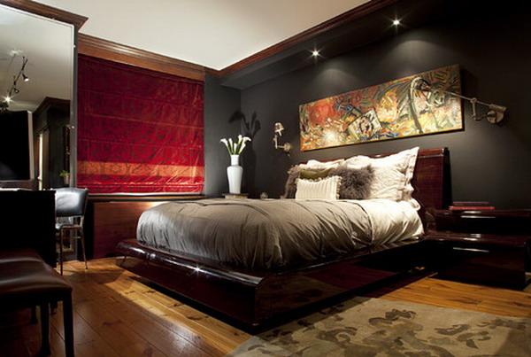 15 Splendid Masculine Bedroom Design Ideas For Men With Style on Guys Bedroom Ideas  id=83387