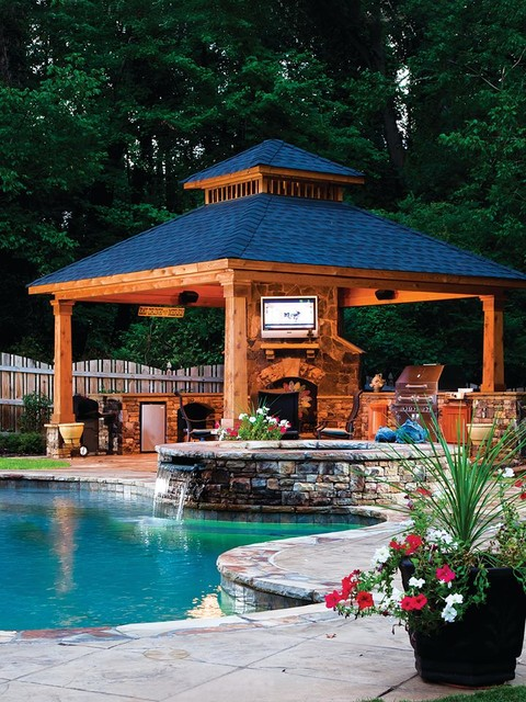 Do It Yourself Home Design: 17 Oustanding Gazebo Design Ideas Which Offer Real Pleasure