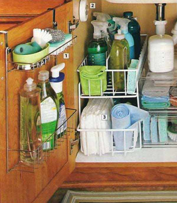 Ideas For Kitchen Cabinet Organization: 18 Really Clever DIY Ideas For Better Organization In Your