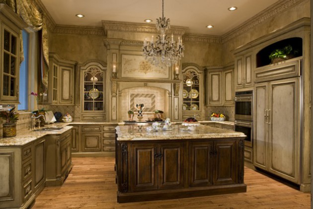 18 luxury traditional kitchen designs that will leave you breathless. Black Bedroom Furniture Sets. Home Design Ideas