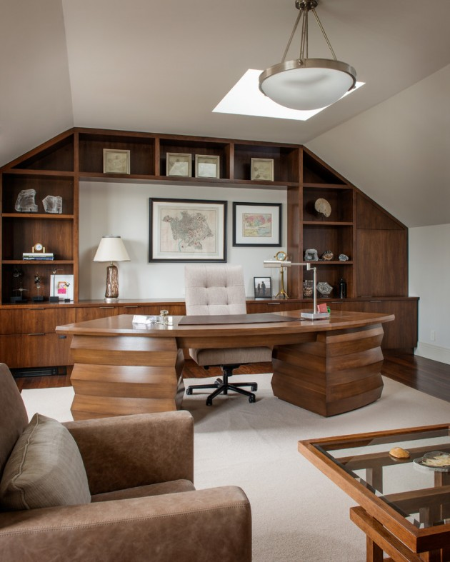 Home Design Ideas Contemporary: 15 Awesome Home Office Designs To Boost Your Productivity