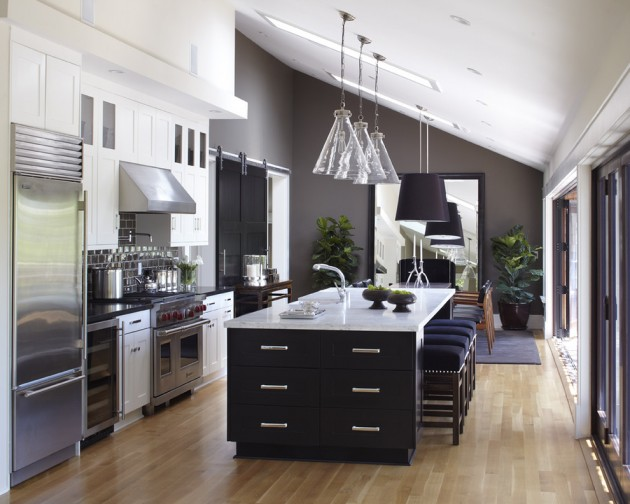 15 remarkable transitional kitchen designs you re going to for Transitional kitchen designs