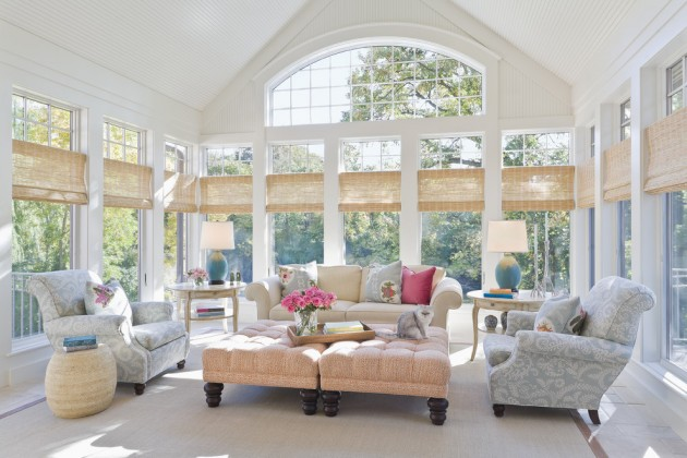 contemporary garden spaces serene sun house | 15 Serene Garden Room Designs To Relax In During The Hot ...