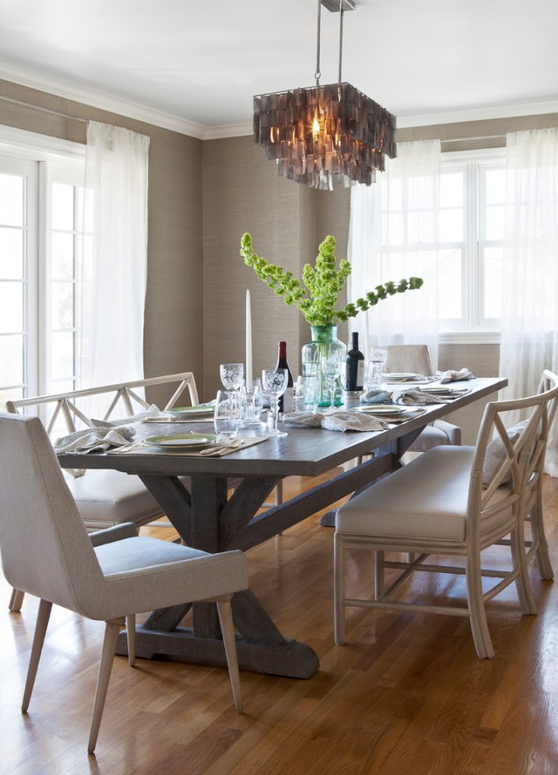Modern Classic Interior Design: 15 Terrific Transitional Dining Room Designs That Will Fit