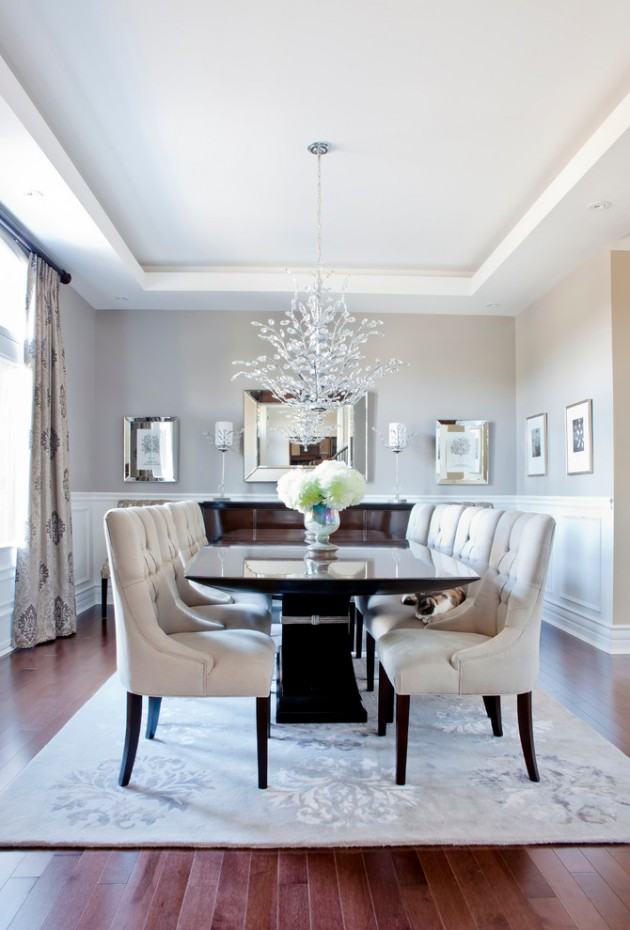 Best Interior Design Ideas Living Room: 15 Terrific Transitional Dining Room Designs That Will Fit