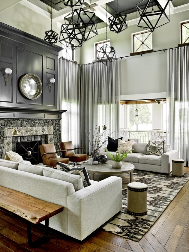 Room Design Interior: 15 Wonderful Transitional Living Room Designs To Refresh