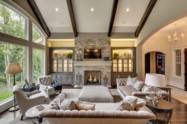 15 Wonderful Transitional Living Room Designs To Refresh Your Home With