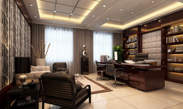 Classy Office Design Ideas With A Big Statement