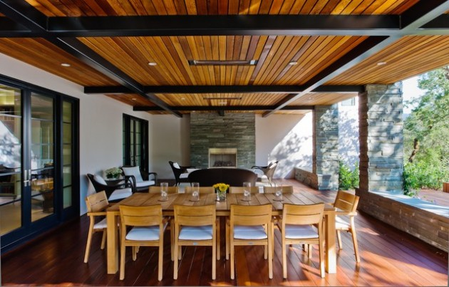 18 Fascinating Outdoor Dining Room Design Ideas