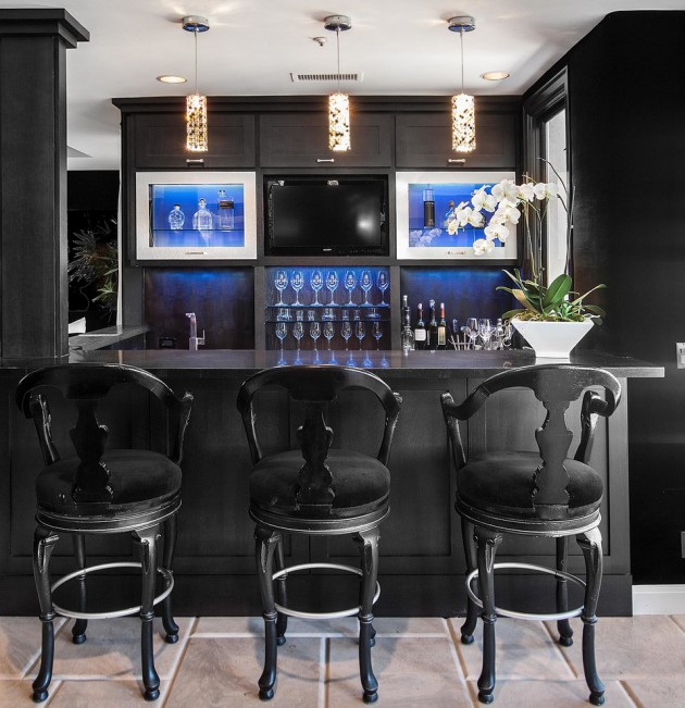 Home Bars Design Ideas: 16 Amazing Contemporary Home Bars For The Best Parties
