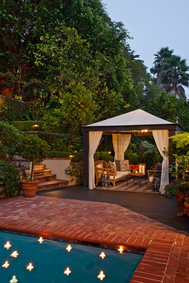 16 Opulent Transitional Patio Designs For The Spring And