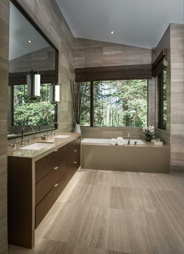 16 Tremendous Contemporary Bathroom Interior Designs To ... on Interior Modern House Ideas  id=95073