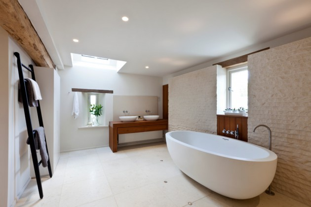 16 tremendous contemporary bathroom interior designs to for Barn conversion bathroom ideas