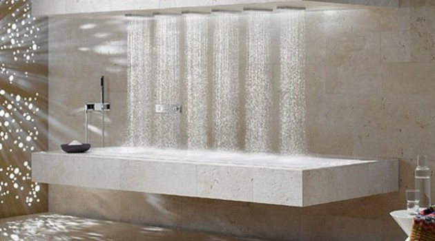 17 Magnificent Rain Shower Designs That Offer Real Pleasure