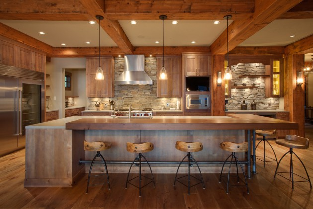 17 Beautiful Rustic Kitchen Interiors Every Rustic