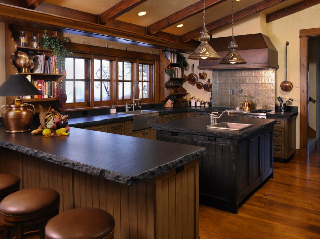17 Beautiful Rustic Kitchen Interiors Every Rustic ...