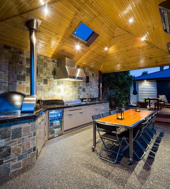 18 Fascinating Outdoor Dining Room Design Ideas