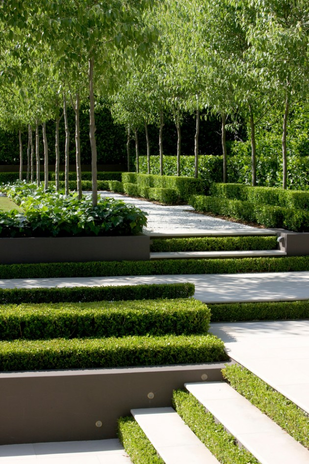 18 Impeccable Transitional Landscape Designs To Make The Best Use Of Spring