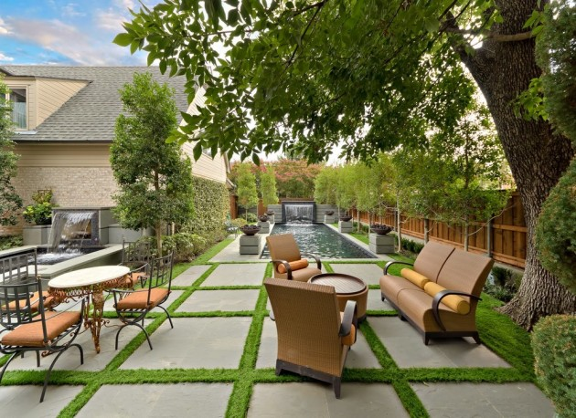 18 Impeccable Transitional Landscape Designs To Make The