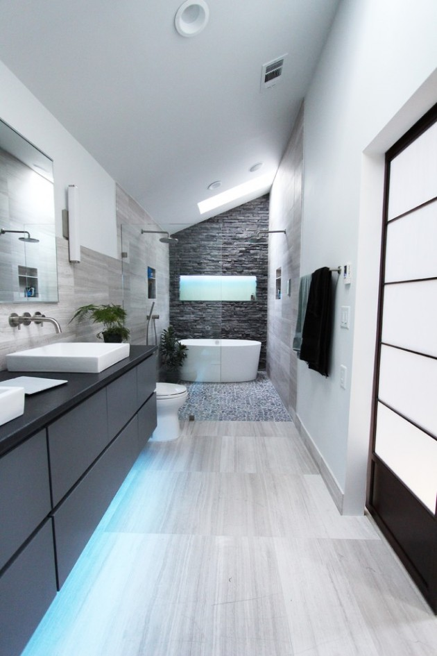 18 Mind blowing Contemporary Bathrooms You Would Wish To Own