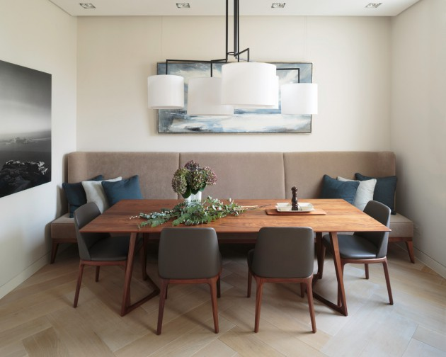18 Superb Contemporary Dining Room Interiors To Enjoy Your Next Meal In