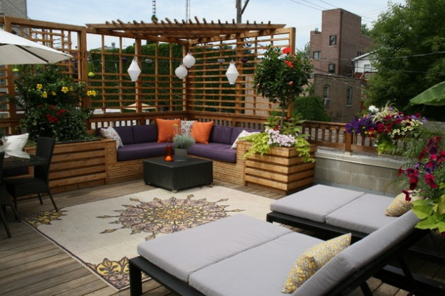Small Outdoor Seating Area