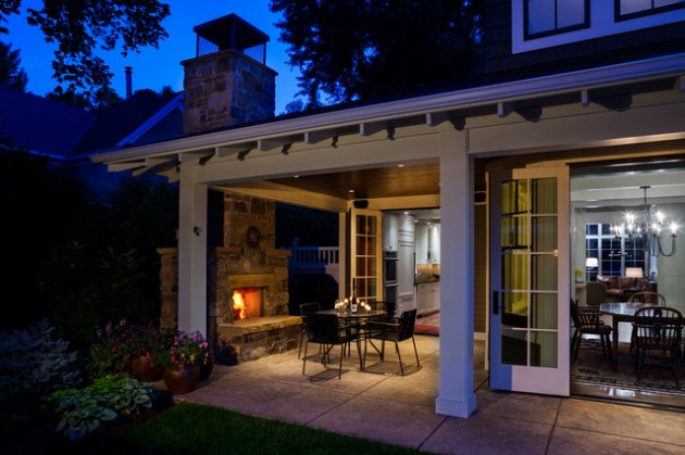 18 Majestic Covered Patio Design Ideas To Enjoy In The Hot Summer Days