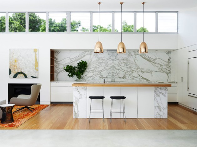 17 Stylish Marble Kitchen Designs For Every Contemporary Home