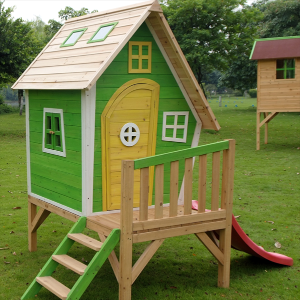 Playhouse Designs And Ideas playhouse is 8 by 9 feet built in cubbies offer plenty of storage for Top 31 Of The Coolest Diy Kids Pallet Furniture Ideas That You Obviously Must See