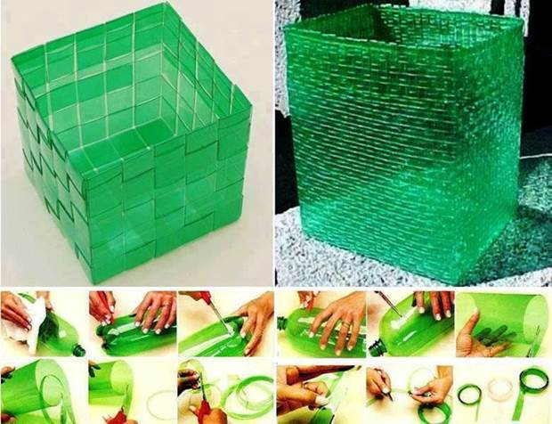 23 insanely creative ways to recycle plastic bottles into for Simple art from waste