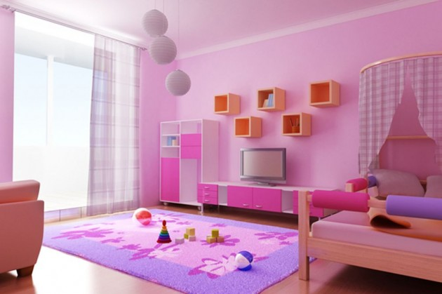 14 Exceptional Modern Childs Room Design Ideas