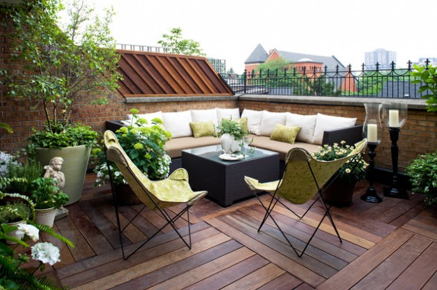 18 Effective Ideas How To Make Small Outdoor Seating Area on Small Garden Sitting Area Ideas id=22926
