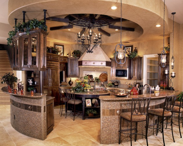 17 Classy Mediterranean Kitchen Design Ideas
