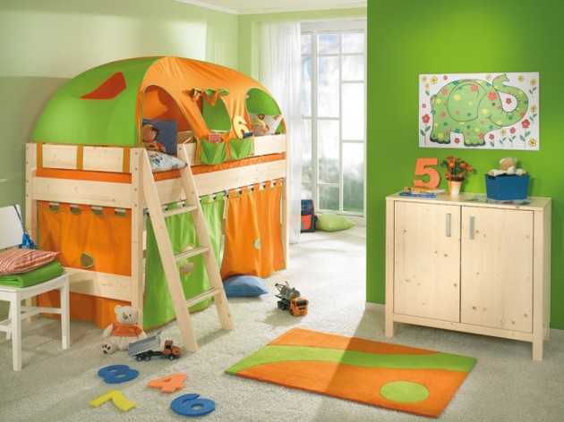 funny play kids room design ideas