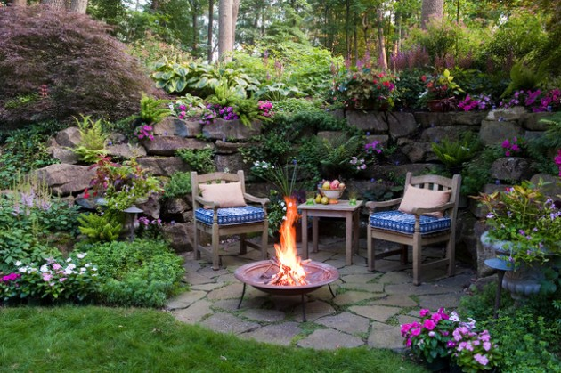 18 Effective Ideas How To Make Small Outdoor Seating Area on Landscape Design Small Area id=14469