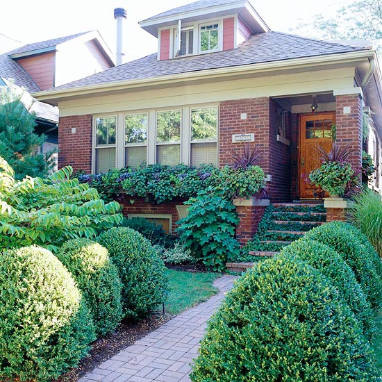 Landscaping Ideas For The Front Yard: Tempting Front Yard Landscape Ideas For A Good Impression